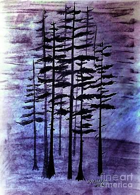 Into The Forest Art Print by Scott D Van Osdol