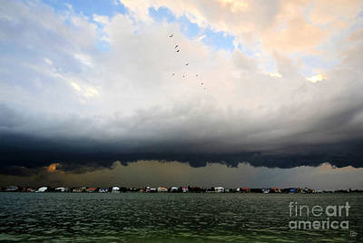 Into The Storm Art Print by David Lee Thompson