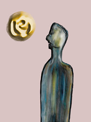 Painting - Introspection by Bill Owen