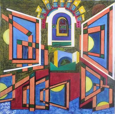 Painting - Introspections by Adalardo Nunciato  Santiago