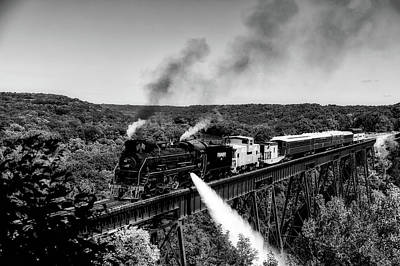Photograph - Iowa's Boone And Scenic Valley Railroad by L O C
