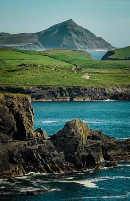 Irish Coastline Art Print by Fergal Gleeson
