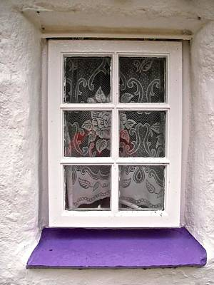 Photograph - Irish Cottage Window by Stephanie Moore