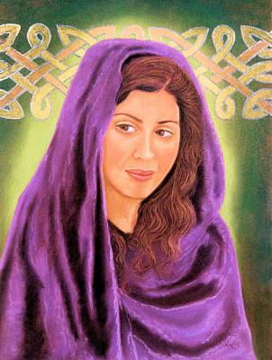 Pastel - Irish Maiden by Jan Amiss