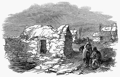1846 Photograph - Irish Potato Famine, 1847 by Granger
