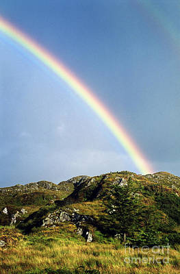 Rainbow Wall Art - Photograph - Irish Rainbow by John Greim