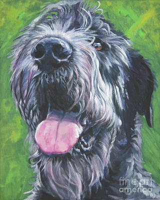Painting - Irish Wolfhound by Lee Ann Shepard