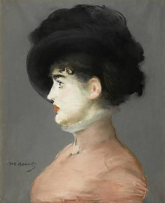 Close Up Painting - Irma Brunner by Edouard Manet