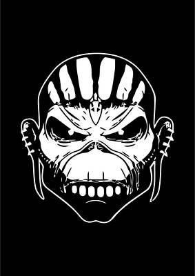 Iron Maiden Art Print by Caio Caldas