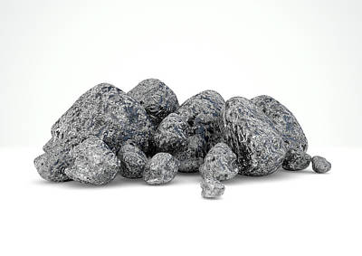 Iron Ore Nugget Collection Art Print by Allan Swart