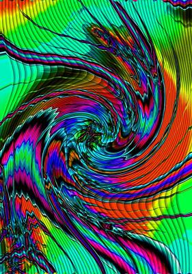Superhero Ice Pops - Irritations Converging Into a Swirl Catus 1 no. 1 V a by Gert J Rheeders