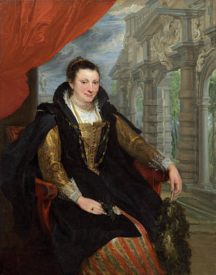 Painting - Isabella Brant by Sir Anthony Van Dyck