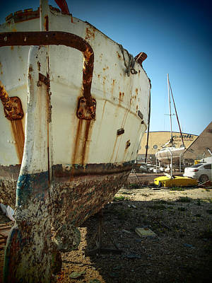 Photograph - Island Of Abandoned Ships 5 by Mark Perelmuter
