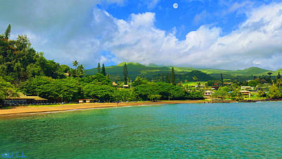 Island Of Maui Art Print by Michael Rucker