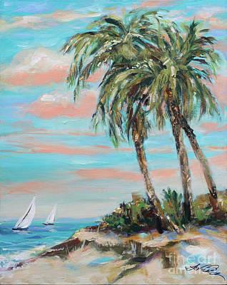 Painting - Island Sail by Linda Olsen