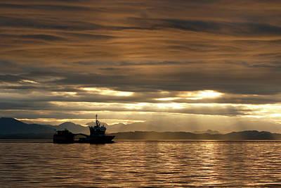 Photograph - Island Sunrise by Inge Riis McDonald