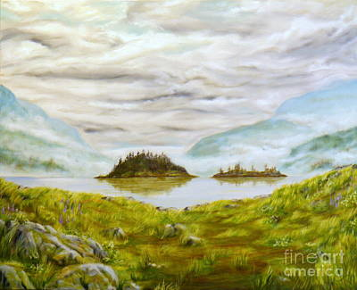 Painting - Islands In The Sea by Ida Eriksen