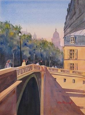 Oberst Painting - Isle De La Cite by Jim Oberst