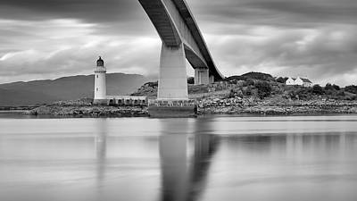 Photograph - Isle Of Skye Bridge by Grant Glendinning