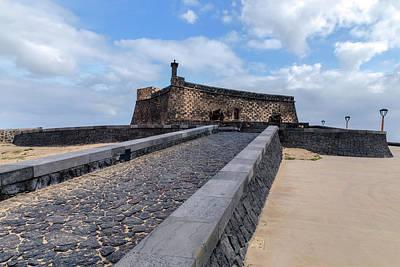 Castillo Photograph - Islote De Los Ingleses - Lanzarote by Joana Kruse