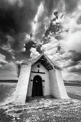 Photograph - Isluga Church by Olivier Steiner