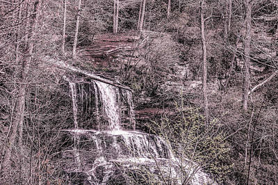 Photograph - Issaqueena Falls  by Cathy Harper