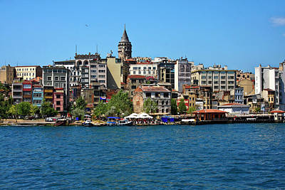 Photograph - Istanbul Skyline by Sally Weigand