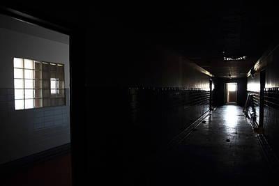 Abandoned Insane Asylum Photograph - It Ran Past Me Here by Kreddible Trout
