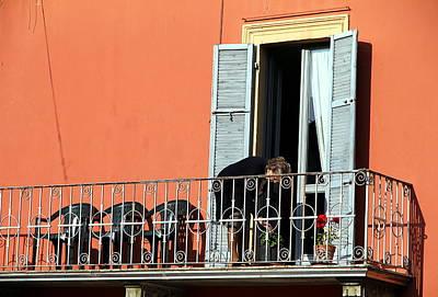 Photograph - Italian Balcony by Valentino Visentini