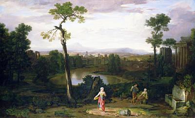 Painting - Italian Landscape by Washington Allston