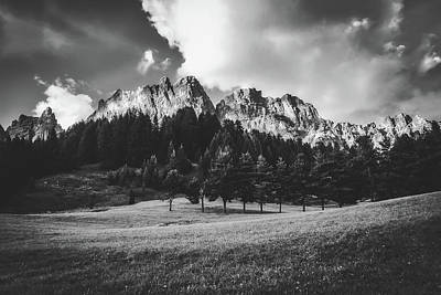 Photograph - Italian Mountain Meadow by Pixabay