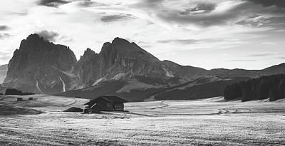 Photograph - Italian Mountain Valley by Unsplash