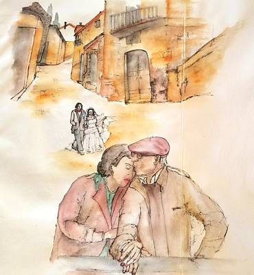 Painting - Italy Love Life And Linguini Album  by Debbi Saccomanno Chan