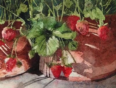 Painting - It's Berry Season by Diane Fujimoto