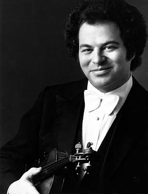 Publicity Shot Photograph - Itzhak Perlman, Ca. 1980s by Everett