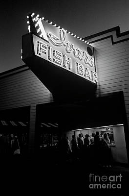 Photograph - Ivars Fish Bar by Jim Corwin
