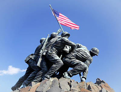 Photograph - Iwo Jima Memorial by Art Cole