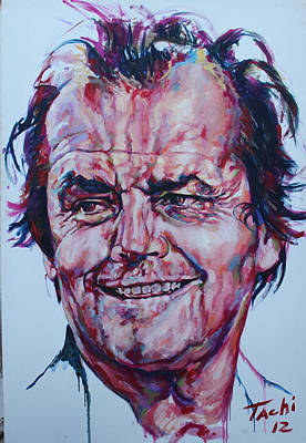 Jack Nicholson Painting - Jack by Tachi Pintor