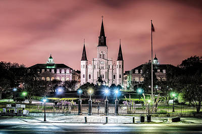 Photograph - Jackson Square by Andy Crawford