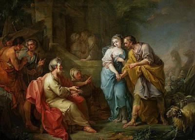 Rachel Painting - Jacob And Rachel by Jacopo Amigoni