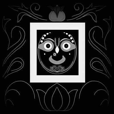 Painting - Jagannatha by Pratyasha Nithin