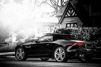 Jaguar F-type Photograph - Jaguar F Type S  by Darek Szupina Photographer