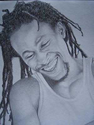 Jah Cure Art Print by Jeffrey Samuels