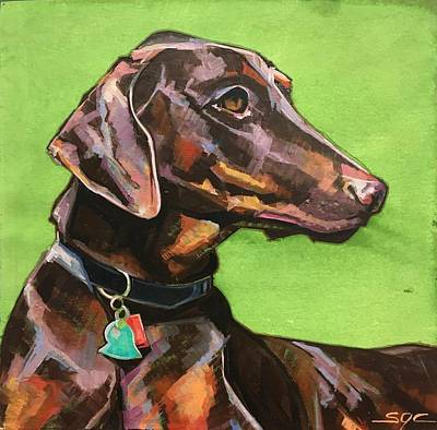 Painting - Jake by Sarah Gayle Carter