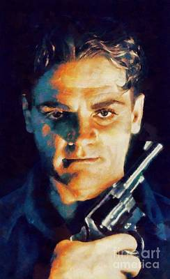 Nirvana - James Cagney, Vintage Hollywood Legend by Esoterica Art Agency