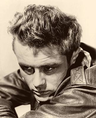 James Dean Photograph - James Dean 1955 by Mountain Dreams