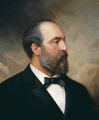 Painting - James Garfield by Ole Peter Hansen Balling
