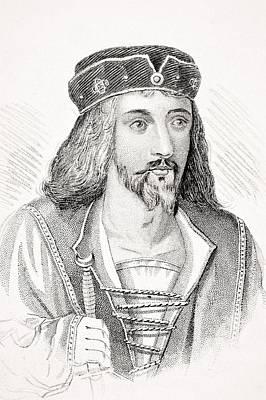James I 1566-1625 King Of Scotland As Art Print by Vintage Design Pics