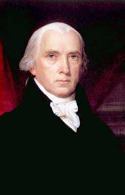 Rire Photograph - James Madison 1751-1836, U.s. President by Everett