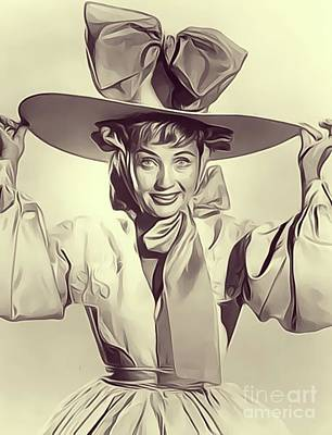 Pineapple - Jane Powell, Vintage Actress by Esoterica Art Agency